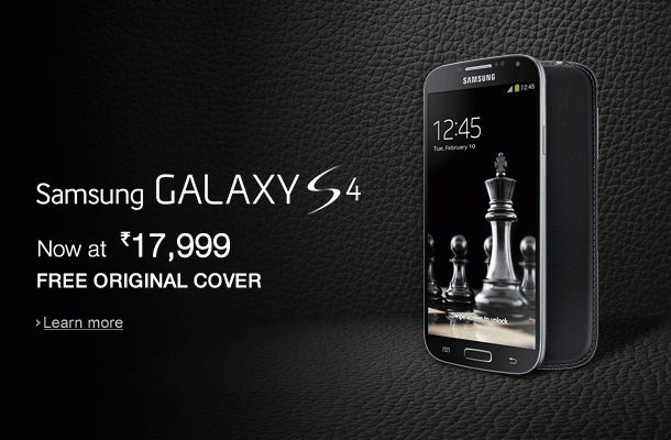 Samsung S4 amazon offer
