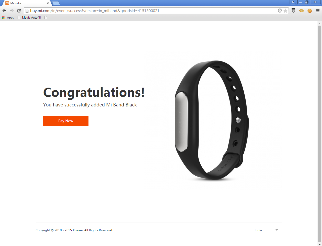 Mi Band success on 19 May sale