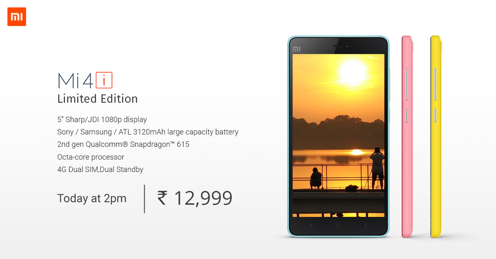 Tricks to buy Xiaomi Mi 4i Limited Edition flash sale on 01