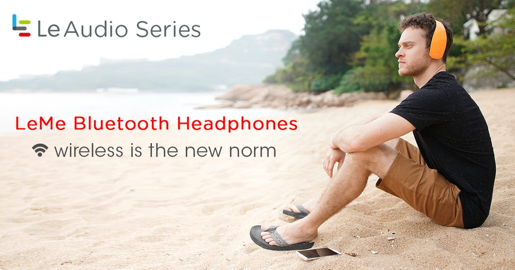LeMe Bluetooth headphones