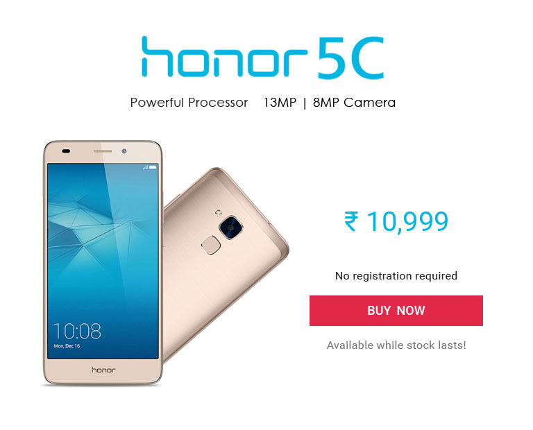 Honor5C_Opensale_01July
