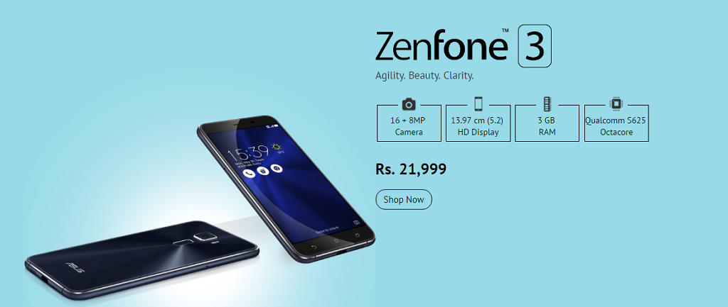 Asus_Zenfone3_Snapdeal_17Aug