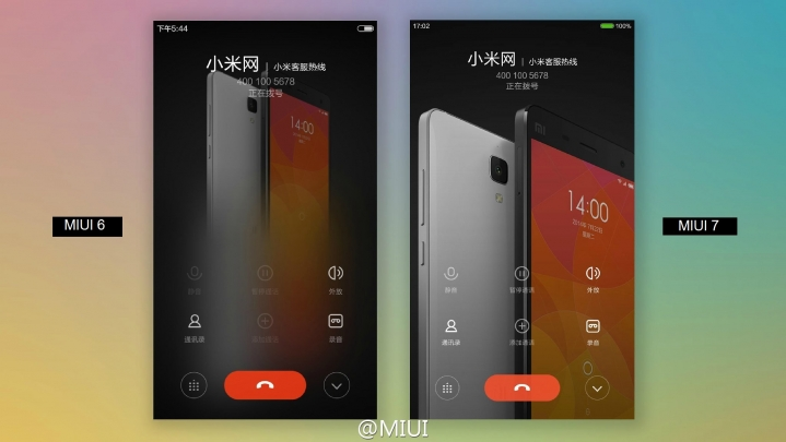 Clearer Calling Page_MIUI7