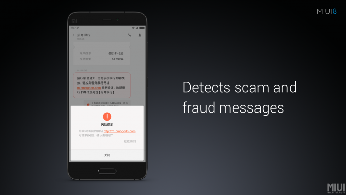 MIUI8-Fraud-Message-Detection