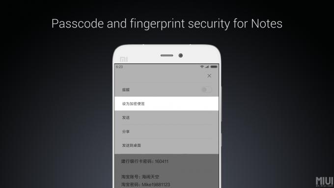 MIUI 8 Feature-Mi-Notes-Ecurity-App