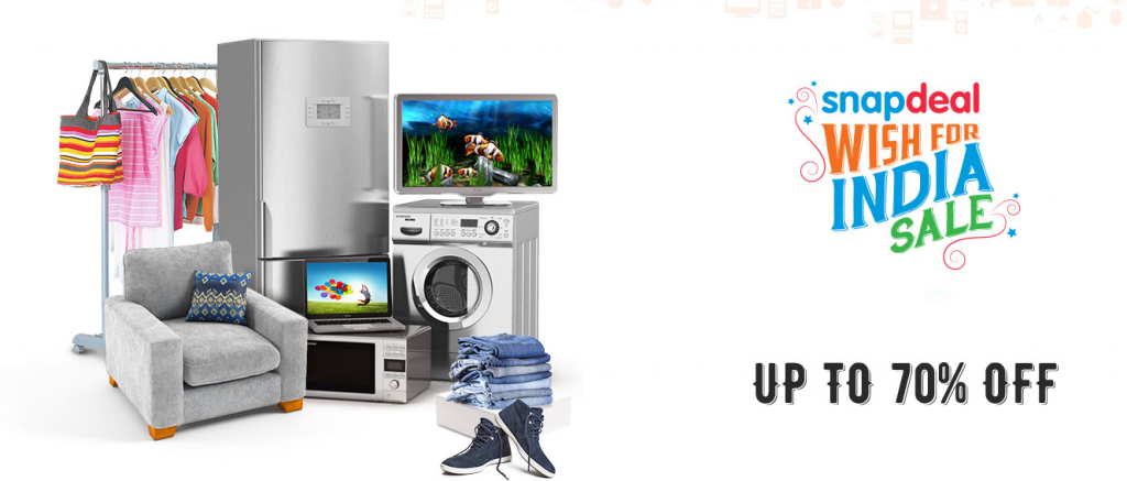 60b98260174 Snapdeal Wish For India Sale – Get Upto 70% Off On Products ...