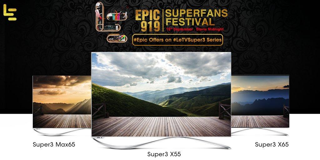 Tricks to buy LeEco LeTV Super3 X55 Smart TV from Flipkart