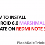Update Redmi Note 3 to Marshmallow