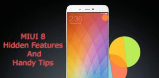 miui 8 hidden features