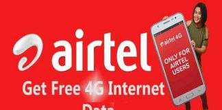 How to Get Airtel 10GB 4G Internet Data for Free