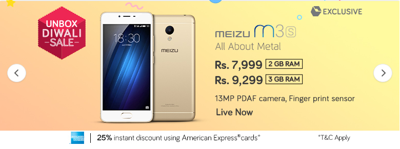 meizu_m3s_snapdeal_26oct_sale