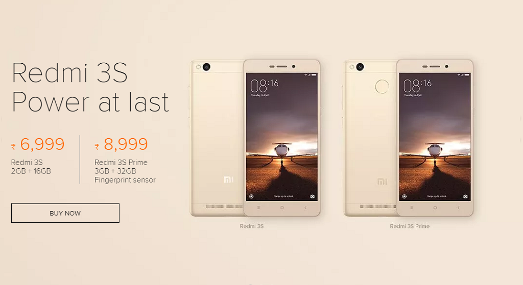 Buy Redmi 3s Prime Flipkart Sale