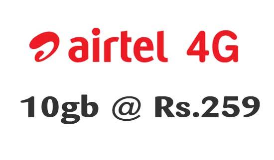 Airtel 4g Offer
