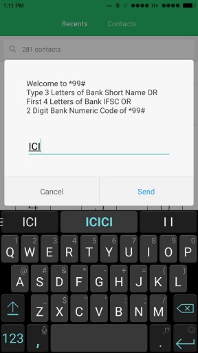 Banking with USSD Code