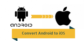 Convert android to ios