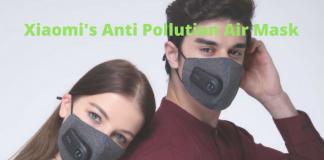 xiaomi anti pollution air mask
