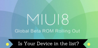 MIUI 8 ROM Download