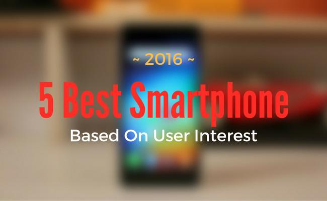 5 best smartphones in 2016