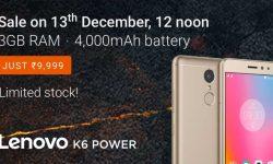 lenovok6power_next_sale_13dec_flipkart