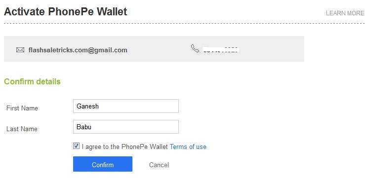 How to Activate PhonePe Wallet on Flipkart - FlashSaleTricks
