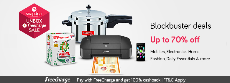 Snadeal_Unbox_Freecharge_Sale_Blockbuster_Deals_11-12Dec