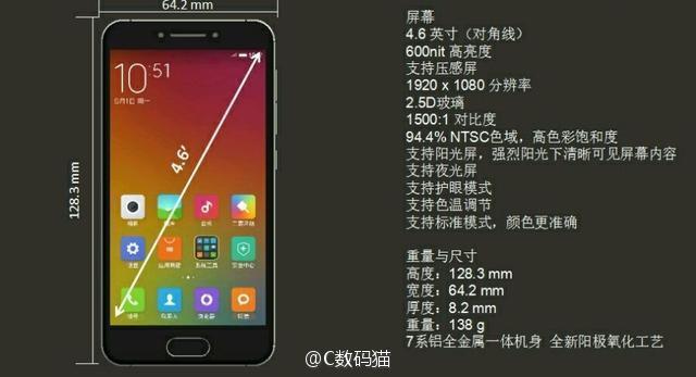 Xiaomi Mi S Specification