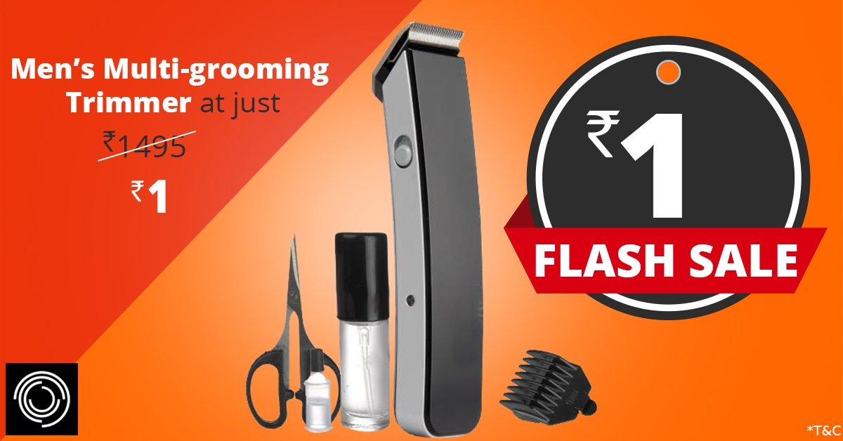 Zotezo_Mens_Multi_Grooming_Trimmer_flash_sale