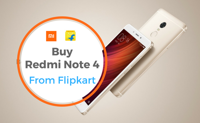 buy redmi note 4 flipkart   flashsaletricks