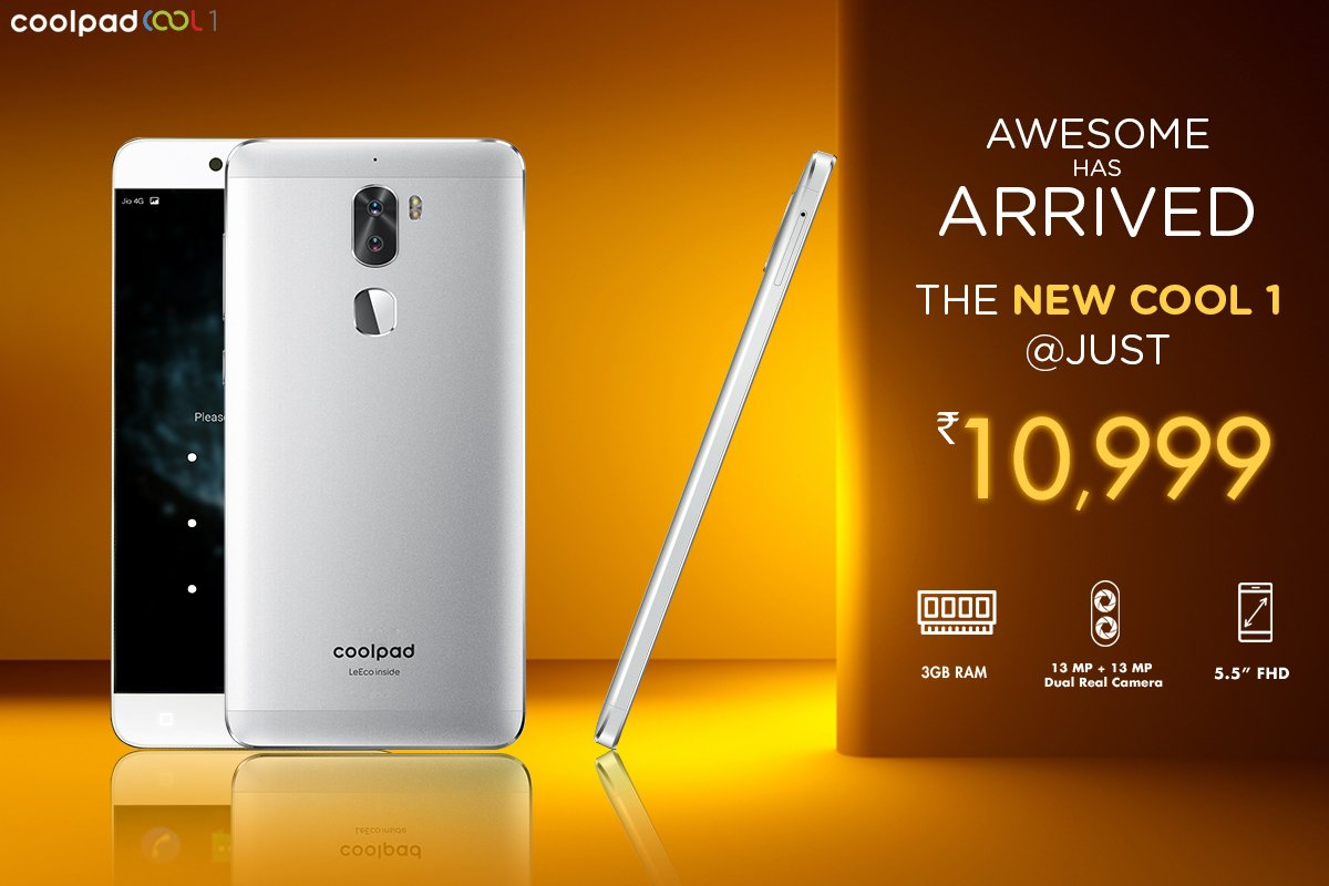 Buy Coolpad Cool1 from Amazon India
