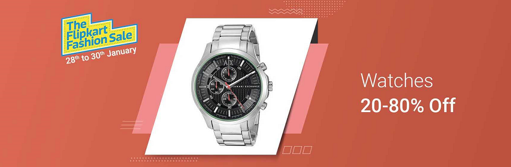 Flipkart_Fashion_Sale_Watches_offer