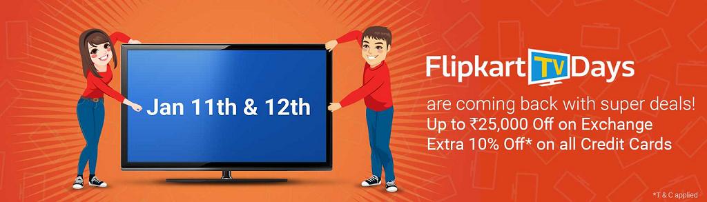 Flipkart_TV_Days_11-12Jan