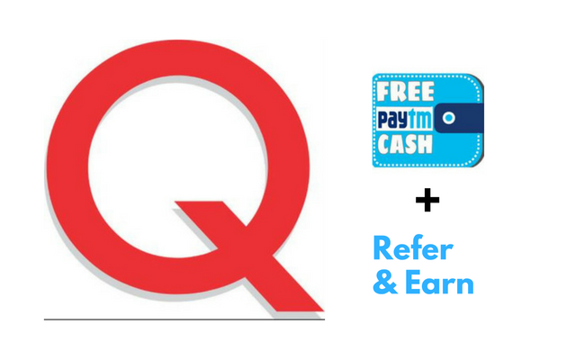 qzaap free paytm cash offer