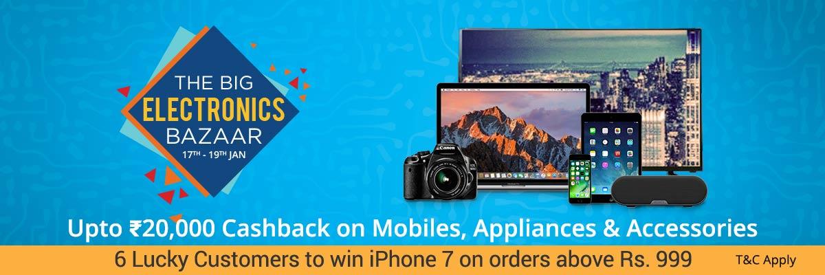 Paytm_The Big Electronics Bazaar_sale_17-19Jan