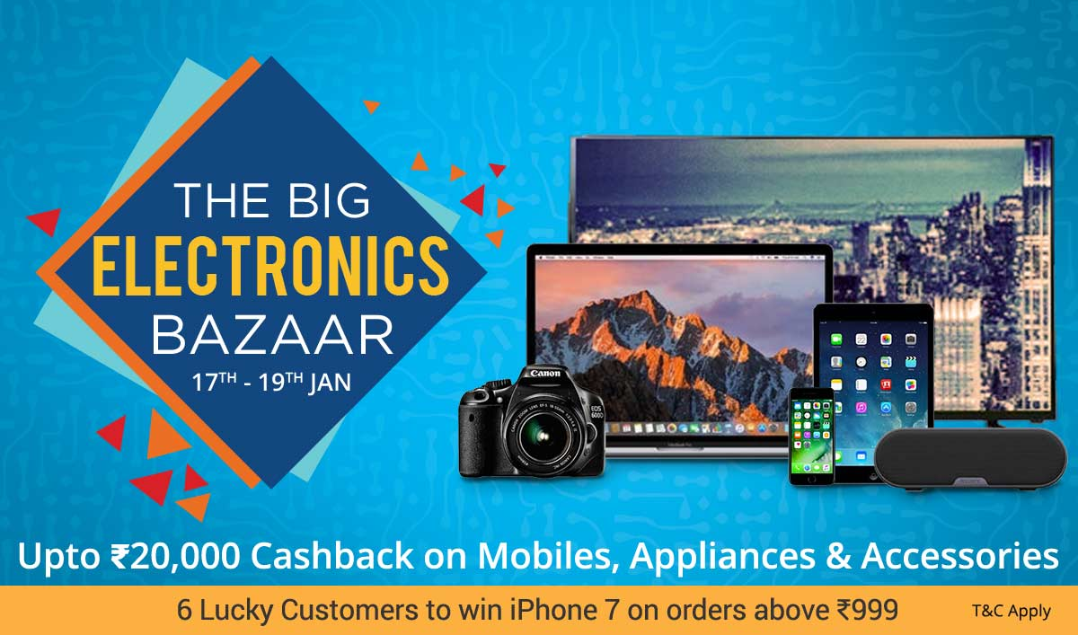 Paytm_The_Big_Electronics_Bazaar_sale_17-19Jan