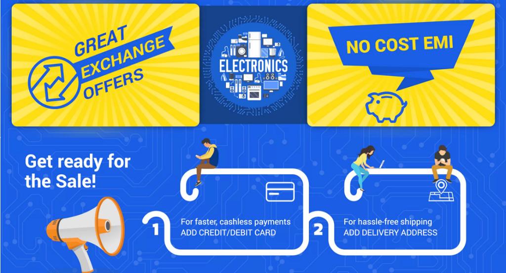 Flipkart_Electronics_Sale_Great Exchange_Offers_No_Cost_EMI
