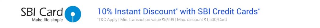 Flipkart_Electronics_Sale_SBI_Credit_Card_Offers