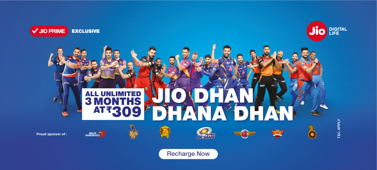 Jio Dhan Dhan Offer | 3 Months Unlimited
