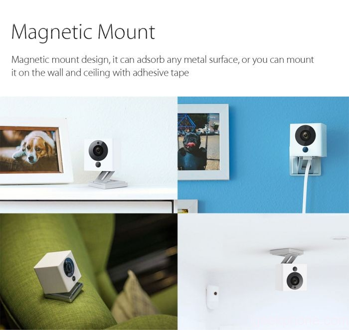 xiaomi small square camera wall mount