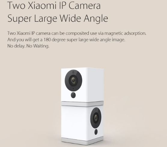 xiaomi small square camera multi stack