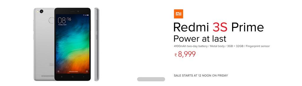 Buy Redmi 3s/3s Prime From TataCliq