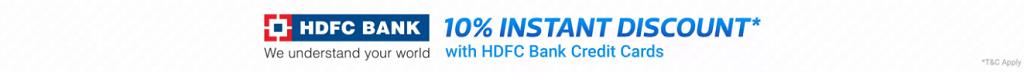 Flipkart Big 10 Sale (14-18 May) | 10% Instant Discount on HDFC Bank Credit Cards