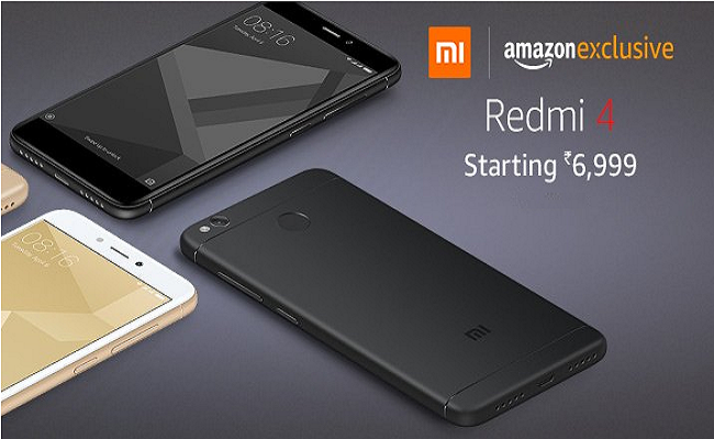 Buy Redmi 4 Starting At Rs6999