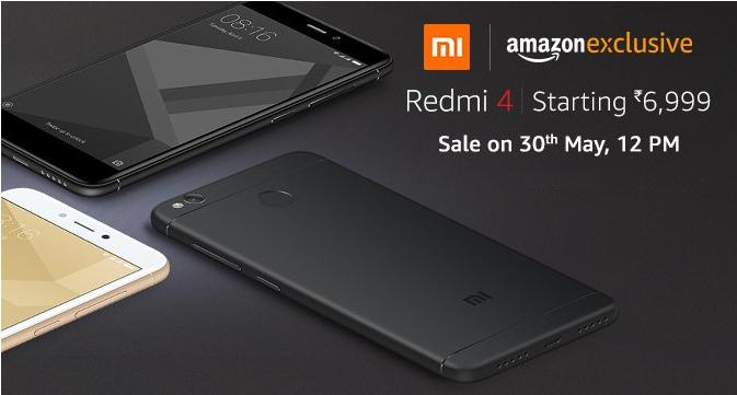 Buy Redmi 4 from Amazon India