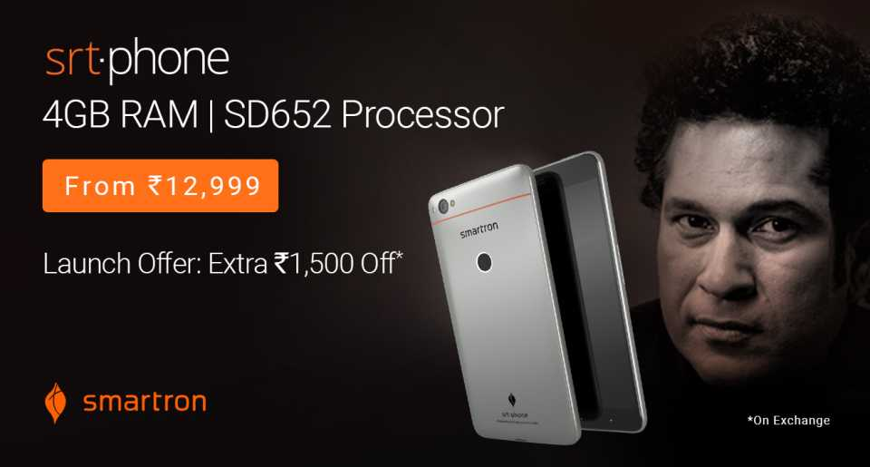 Buy Smartron srt.phone from Flipkart