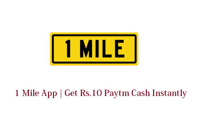 1 Mile App Loot
