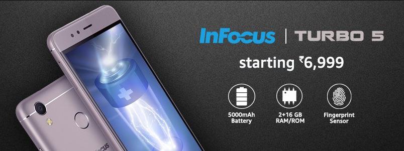 Buy InFocus Turbo 5 from Amazon India