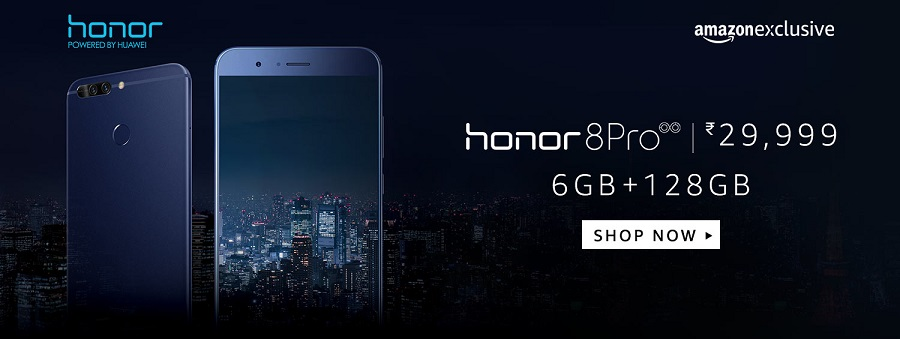 Buy Honor 8 Pro from Amazon India