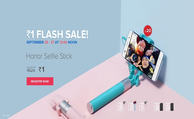 Buy Honor Selfie Stick from Honor Flash Sale