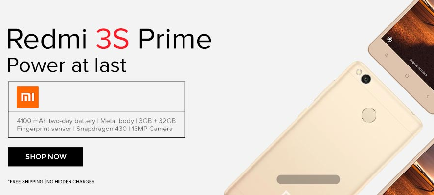 Buy Redmi 3s/3s Prime From TataCliq