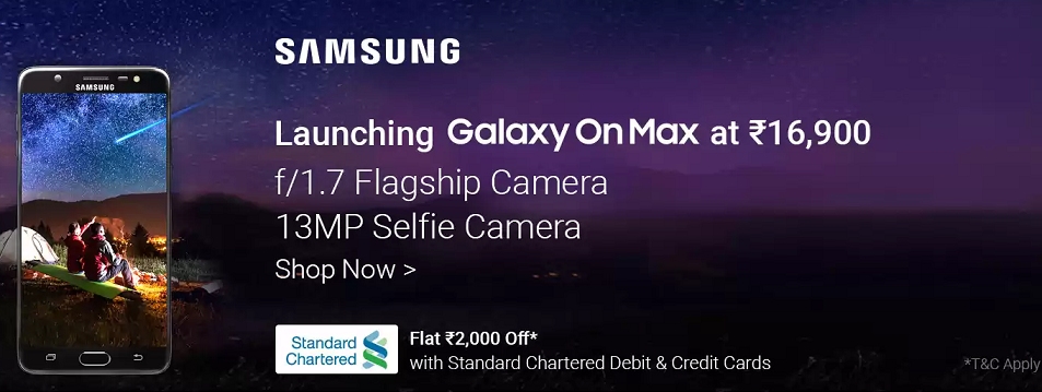 Buy Samsung Galaxy OnMax from Flipkart